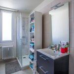 Salle de bain rénovée - Rénovation d'un appartement dans l'hypercentre de Strasbourg