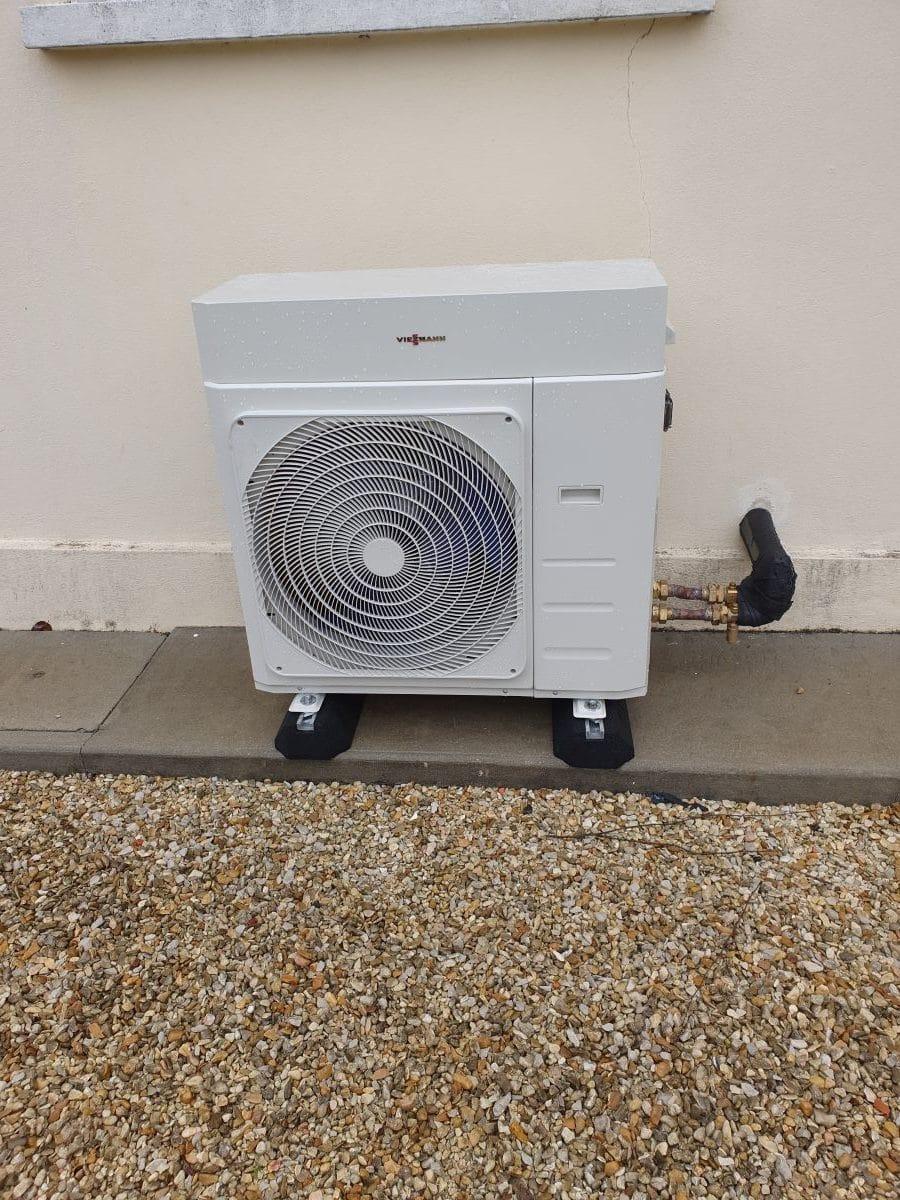 Changement de chaudière d'une maison à Cherves Richemont (16)