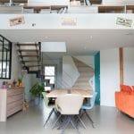 Salle à manger - rénovation complète d'une maison à Thouars