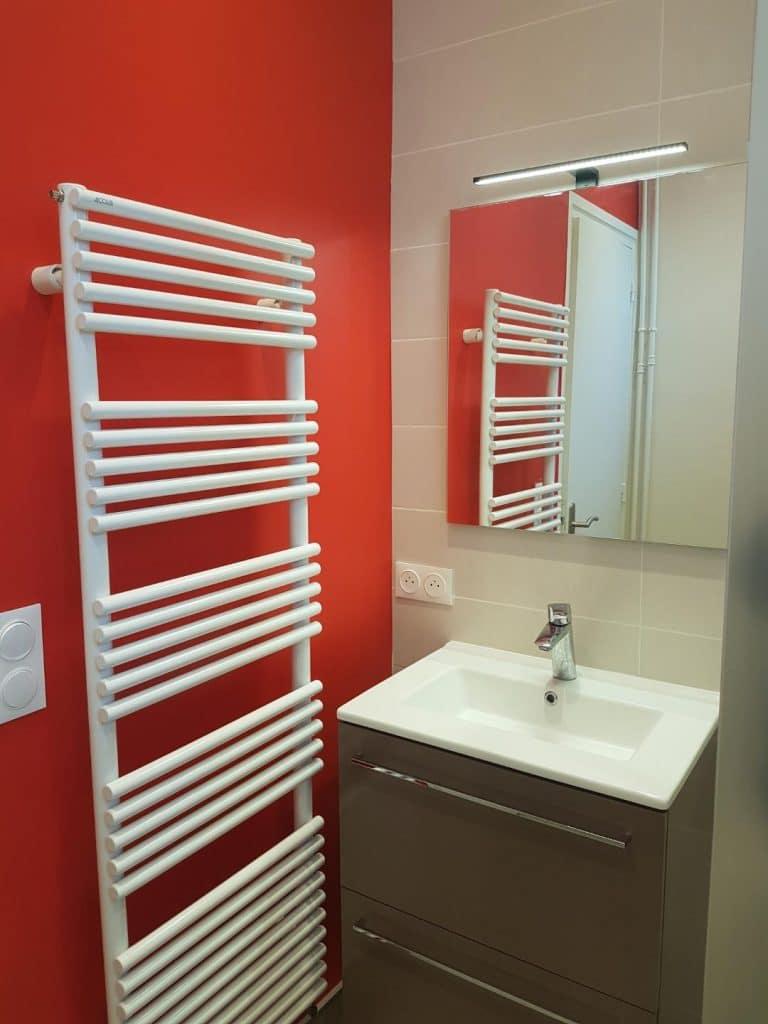 Rénovation de deux salles de bain à Hennebont (56)