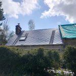 Couverture à neuf - Rénovation de maison suite à un sinistre à Pléguien (22)