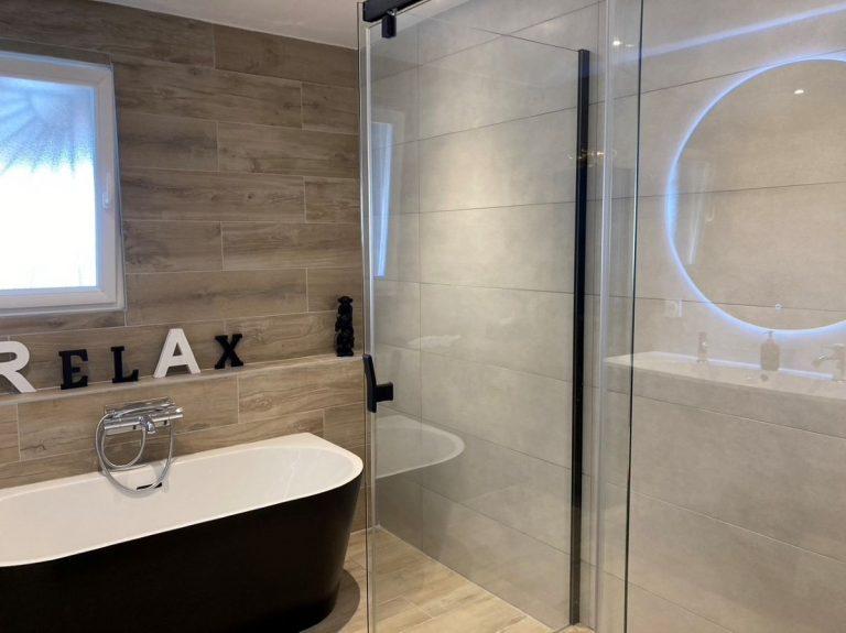 Rénovation d'une salle de bain à Arcins dans le Médoc (33)