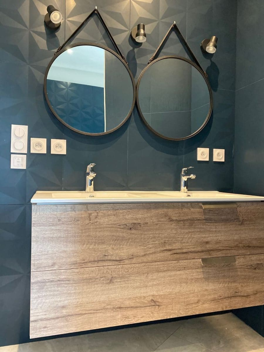 Création d'une salle de bain à Saint Jean de Védas (34)