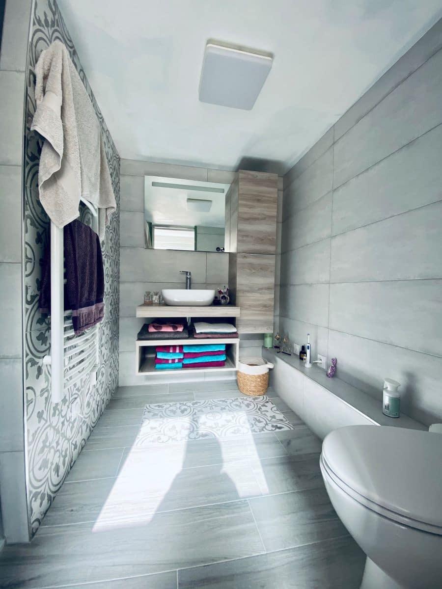 Rénovation d'une salle de bain à Estrée Blanche (62)