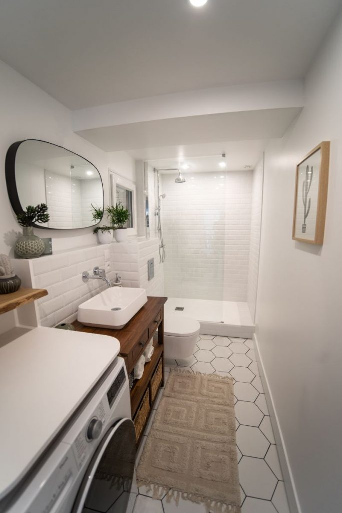 salle de bain rénovée - Rénovation d'une salle de bain à Montpellier