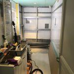 Travaux en cours - Rénovation d'une salle de bain à Montpellier