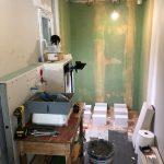 pendant travaux de rénovation - rénovation salle de bain Montpellier