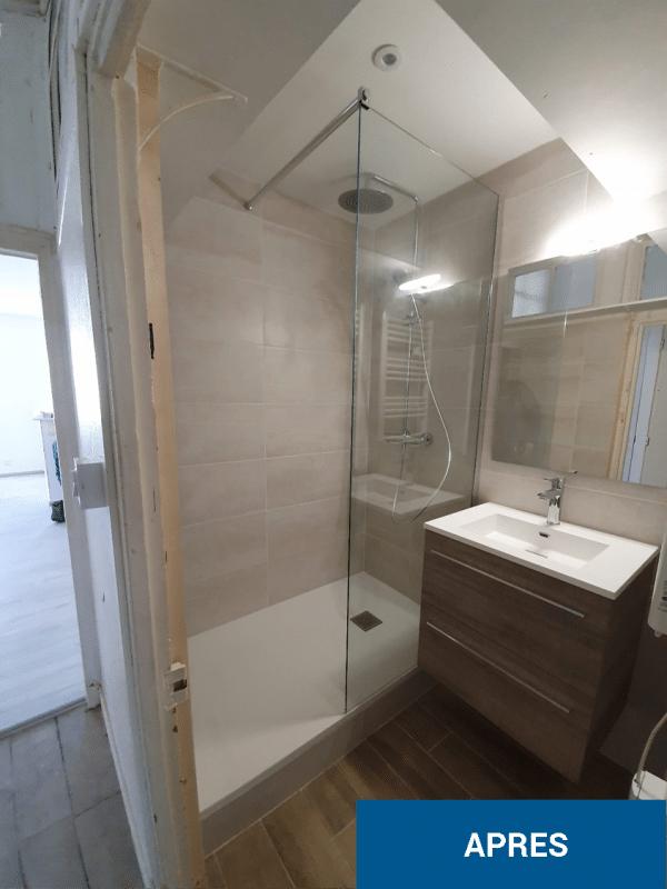 Rénovation d'un studio à Ruffec (16)
