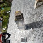 Solins mis à neuf Rénovation d'une toiture à Lézardrieux