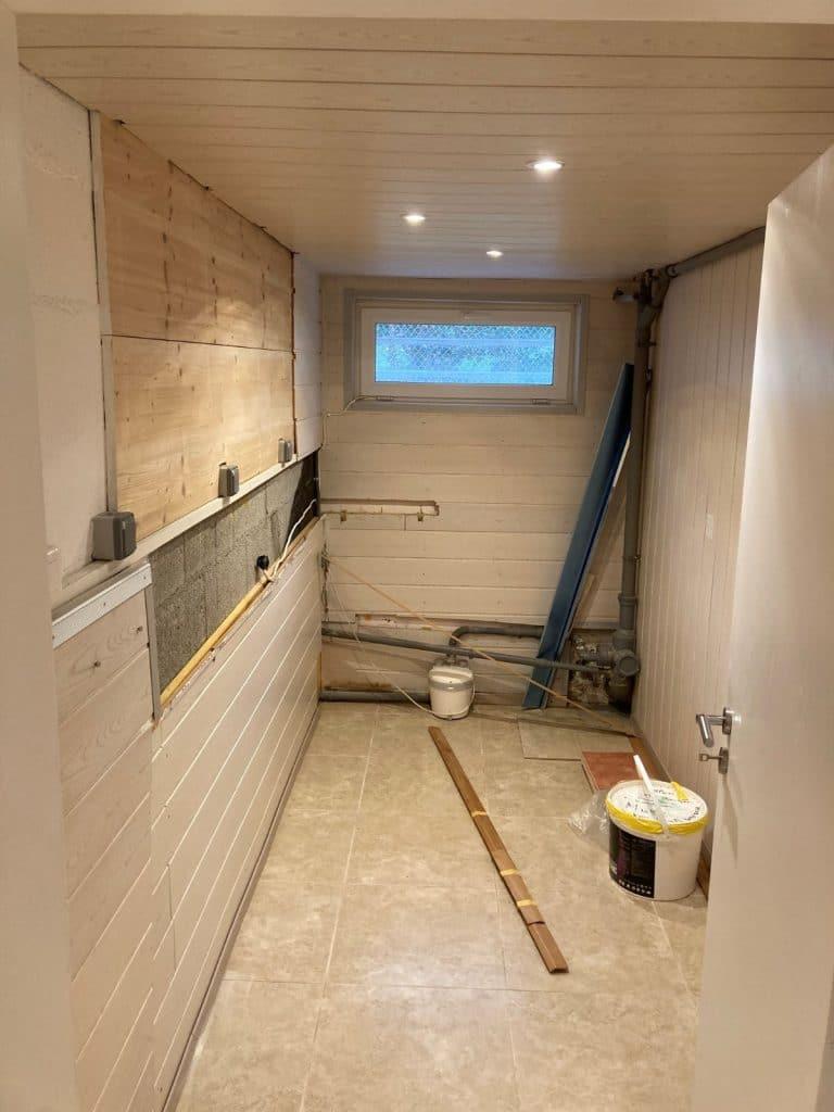 Salle de bain en cours de rénovation - Riedisheim
