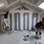 Mise en peinture - aménagement de combles à Feillens