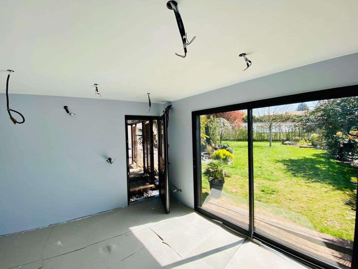 Extension de maison en bois à Arques (62)