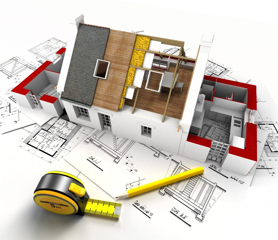 extension de maison Valence - plans