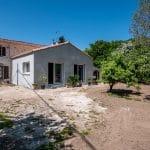 Extension vue du jardin - extension de maison à Thorigny de 50 m2