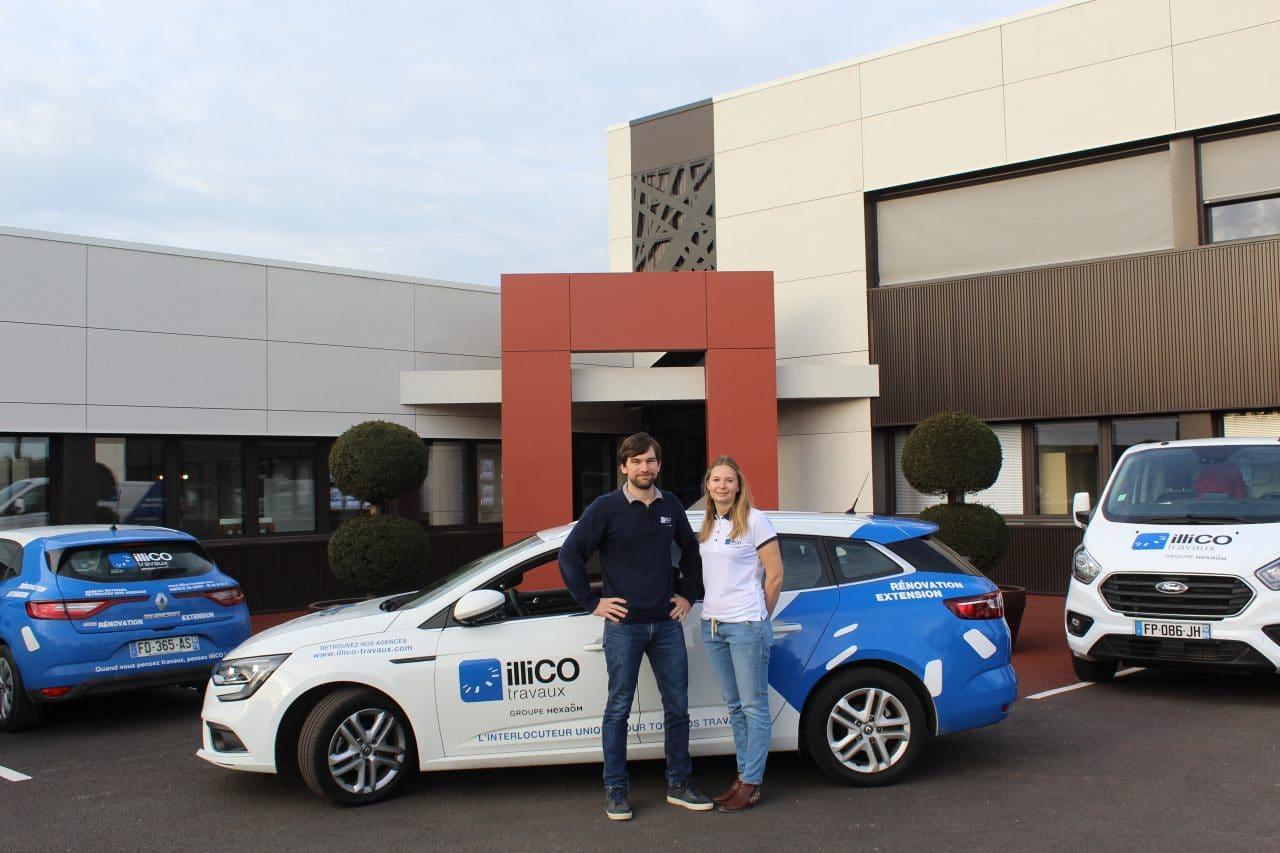 illiCO travaux Romans - Valence-Nord - Aurélien et Florie Cardon - voiture illiCO