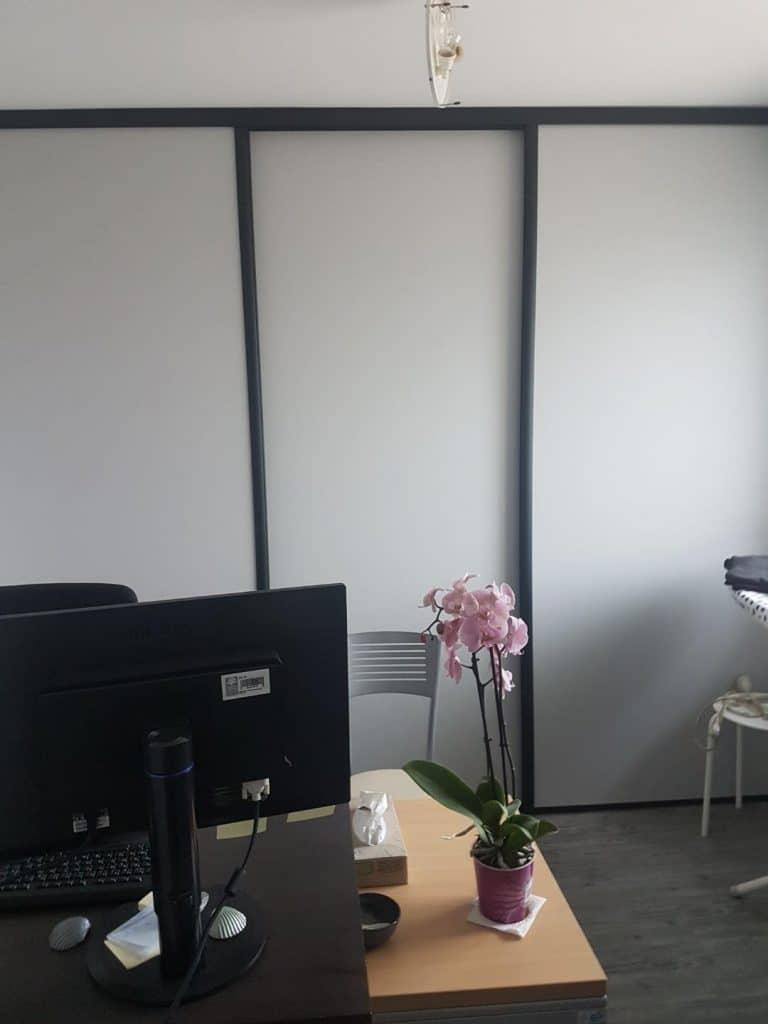 Création d'un bureau - Rénovation d'un rez-de-chaussée de maison près de Lorient