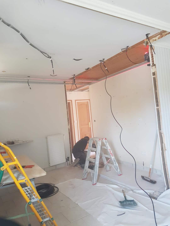 Rénovation d'un rez-de-chaussée à Inzinzac-Lochrist (56)