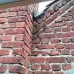 avant travaux - Rejointement de pignon de maison à Lille