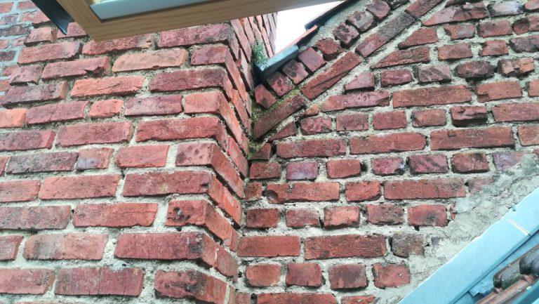 Rejointement de pignon d'une maison à Lille (59)