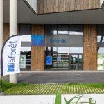 Vue extérieure de l'agence - Rénovation d'une agence immobilière à Tarnos