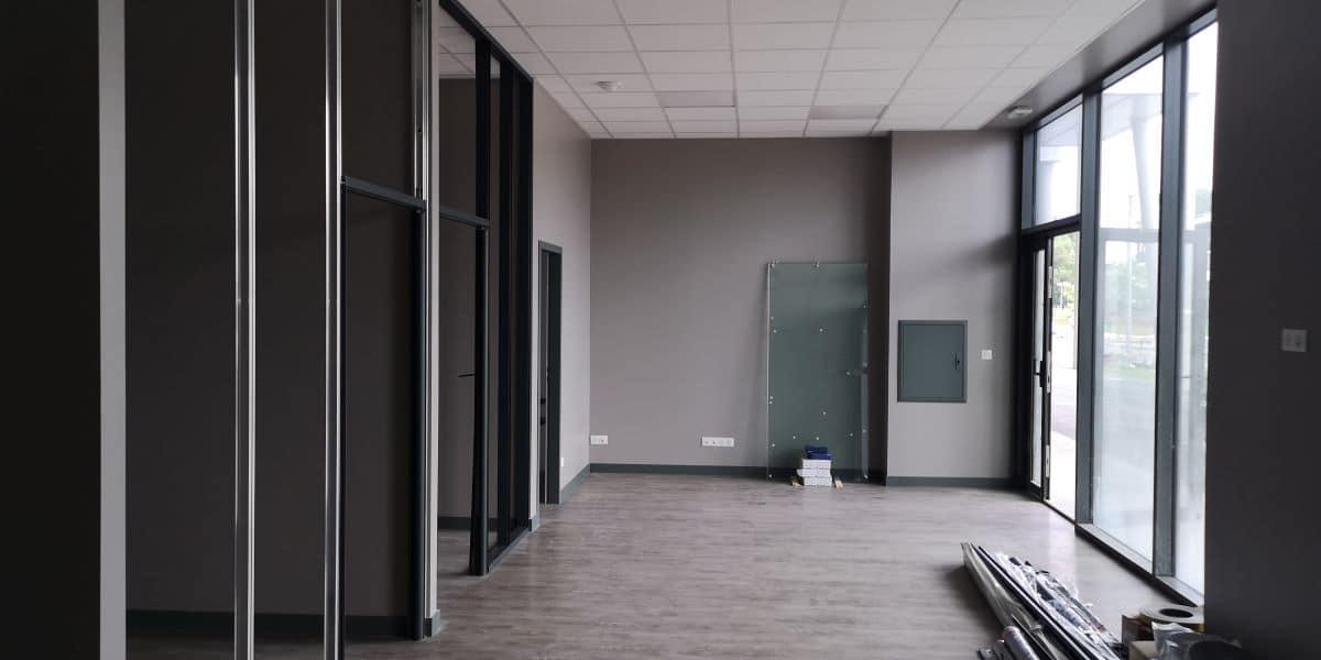 Aménagement d'une agence immobilière à Tarnos (40)
