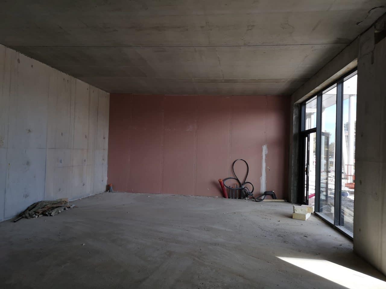 Avant travaux - Rénovation d'une agence immobilière à Tarnos