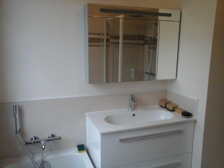 Rénovation de deux salles de bain à Vernon (27)