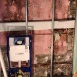travaux en cours - Rénovation de maison à Saulzet-le-Froid dans le département du Puy-de-Dôme