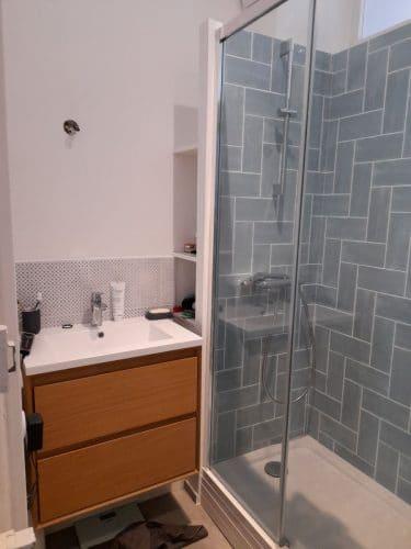 Rénovation d'une salle de bain en centre-ville de Lille (59)