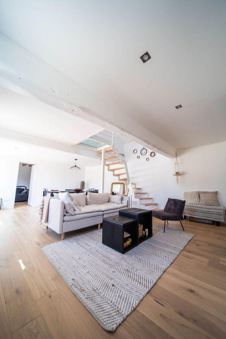 Rénovation d'un salon d'une maison à Montpellier (34)