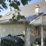 Rénovation de toiture sur l'île de Groix