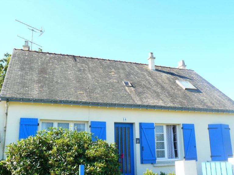 Rénovation d'une toiture à Groix (56)