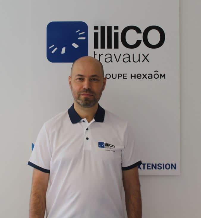 Denis Ferreira - responsable illiCO travaux Courbevoie - Colombes
