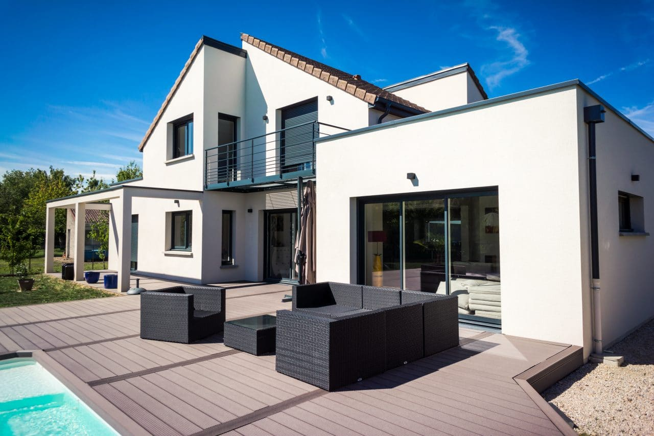 extension de maison à Avranches par illiCO travaux : extension en parping