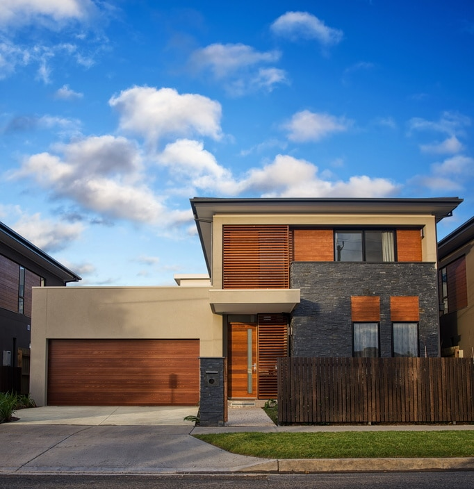 Extension de maison moderne et contemporaine