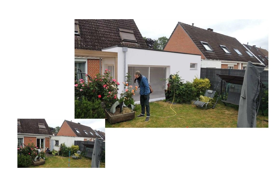 Extension de maison à Marquette-Lez-Lille (59)