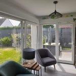 extension maison Marquette-lez-Lille - intérieur avec salon