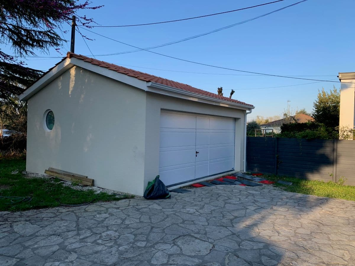 Création d'une extension garage à Gradignan (33)