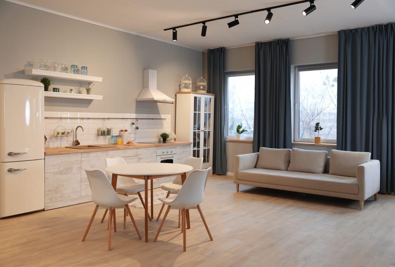 renovation appartement Avignon : sejour
