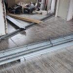 Création des nouvelles chambres rénovation de l'étage à La Madeleine