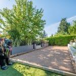 Création d'un terrain de pétanque - Aménagement extérieur d'une maison à Tassin-la-Demi-Lune