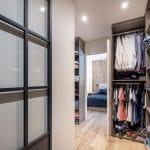 création d'un dressing - Rénovation intérieure d'une maison à Tassin-la-Demi-Lune