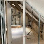 Combles - Rénovation partielle d'une maison à Trouy Bourg, près de Bourges (18)