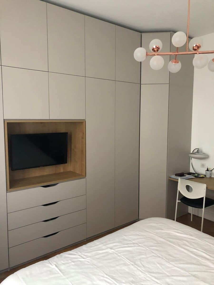 Rénovation partielle d'un appartement à Lyon (69)