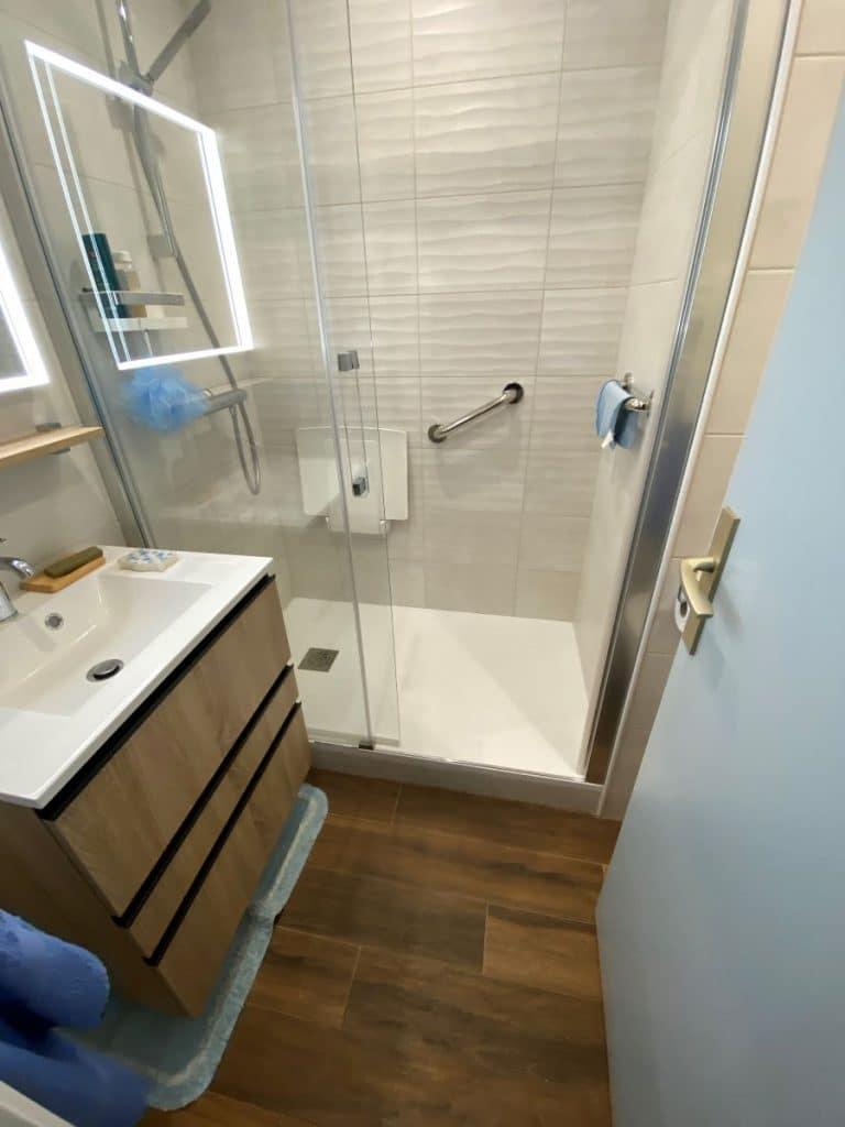 Rénovation d'une salle de bain dans un appartement à Paris (75)