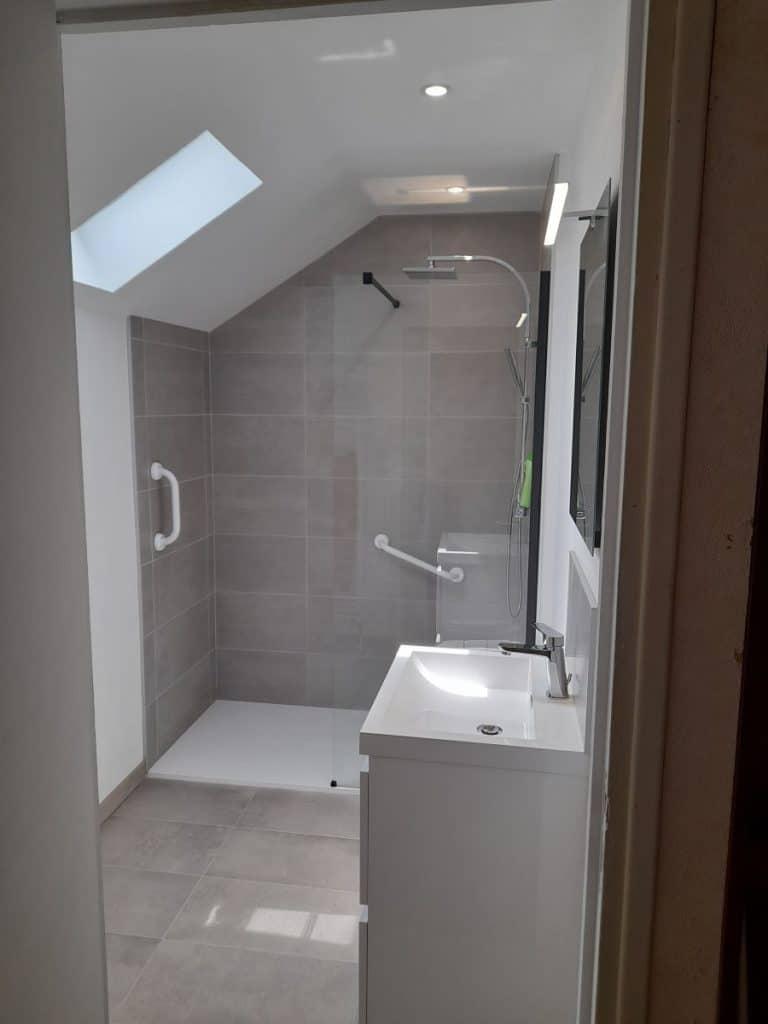 Rénovation d'une salle de bain à Wambrechies dans le Nord (59)