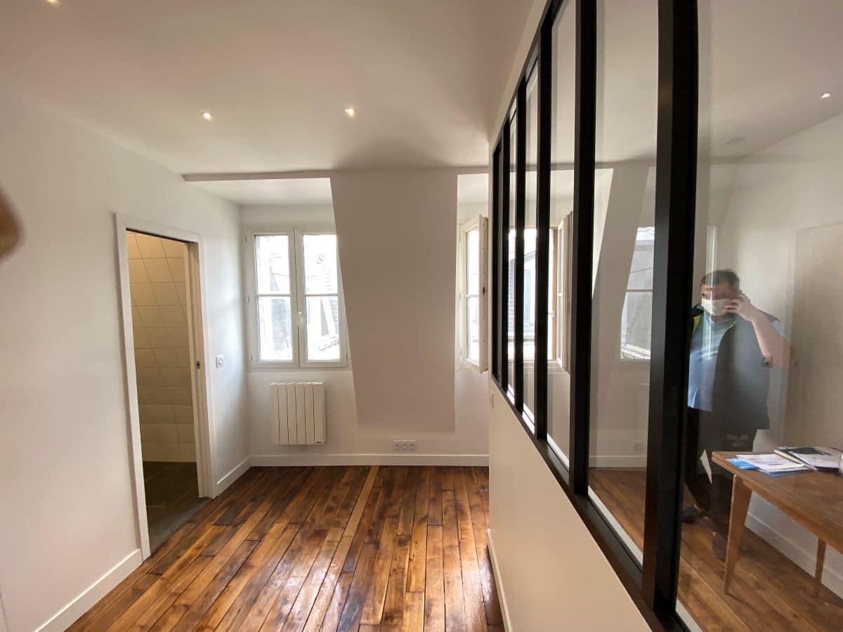 Rénovation complète d'un studio à Paris (75)