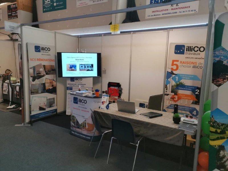 illiCO travaux présent au Salon de l'Habitat et de l'Immo de Monistrol-sur-Loire (43)
