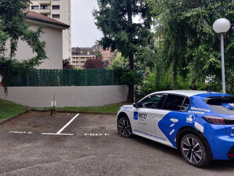 Rénovation d'un mur de clôture à Saint Étienne (42)