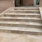 Escalier rénové - Aménagements extérieurs à Ouveillan près de Narbonne par illiCO travaux